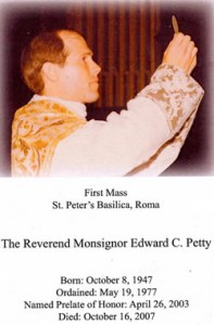 Rev. Edward C. Petty